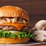 クラシックマッシュルームチーズバーガーのカロリーと糖質量は?いつからいつまで?